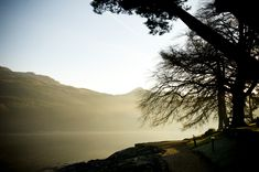 Location - Shoot - Eat - Sleep Dawn Shoreline at The Lodge on Loch Goil - a small sea loch located in the Loch Lomond & Trossachs National Park . The Loch, Loch Lomond, The A Team, Eat Sleep, Natural World, Dawn, National Parks, Heaven, Sea