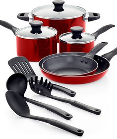 12 Piece Tools of the Trade Nonstick Aluminum Cookware Set $29.99 (macys.com)