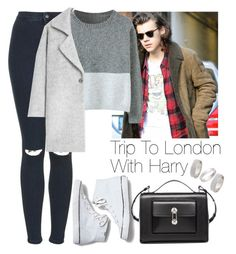 """""""Trip to London with Harry"""" by lovatic92 ❤ liked on Polyvore featuring Topshop, MANGO, Keds, Balenciaga, women's clothing, women's fashion, women, female, woman and misses"""