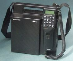 The BAG CELL PHONE or BAG PHONE.