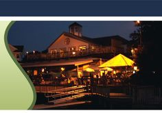 Madigan's in Occoquan VA ~on the river~ casual dining :-)