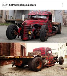 Enjoy this gallery of really cool Rat Rods. Rat Rod Cars, Hot Rod Trucks, Cool Trucks, Big Trucks, Cool Cars, Custom Rat Rods, Custom Trucks, Custom Cars, Rat Look Car