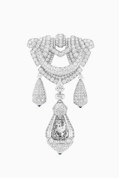Тайные механизмы под бриллиантами в новой коллекции Van Cleef & Arpels   Украшения   VOGUE