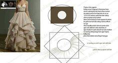 Lovely layered handkerchief skirt