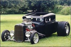 Nice Chopped Hot Rod