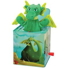 jack-in-the-box toy | Kids-Preferred-Puff-the-Magic-Dragon-Jack-in-the-Box-Toy