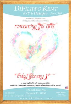 Romancing the Arts. Wood River, Great Night, Store Hours, Solid Wood, February, Friday, Events, Lights, Design