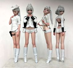 Character Modeling, 3d Character, Character Concept, Concept Art, 3d Figures, Anime Figures, Fantasy Characters, Female Characters, Modelos 3d