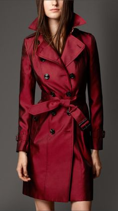 9fd146f09797 32 Best Red trench coat images