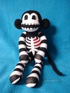 hayano handmade: Monkey Sock Doll
