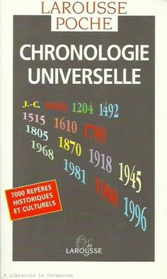 COLLECTIF. Chronologie universelle