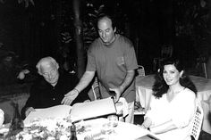 Gianni Agnelli at Da Paolino...amazing