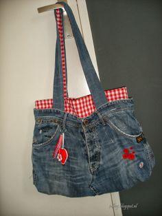 Juf Leej: Jeans-tas