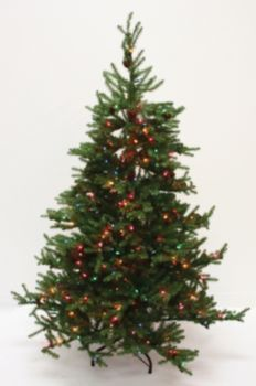 Prelit Pencil Christmas Trees