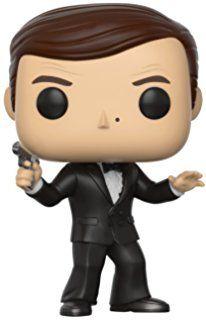 Funko Pop Movies: James Bond-Roger Moore Collectible Figure