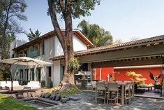 Casa revitalizada en México.