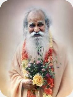 Sri Swami Satchidananda's photo.