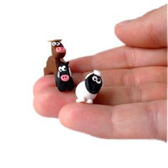 Agricola Farmyard Animal Meeple Tokens by epicycledesigns on Etsy, $54.00