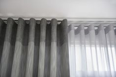The wave curtain - main concern the depth of both curtains
