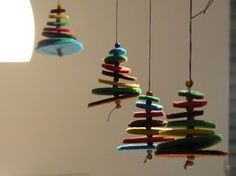 Weihnachtsdekoration basteln | xmas tree diy | Pinterest | Xmas ...