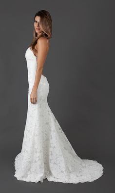 Gorgeous Backless Wedding Dress - Katie May Poipu Gown