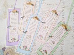 Daughter of the King Bookmarks Princess by Strength4theJourney