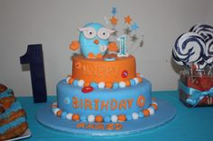 Giggle And Hoot Cake Decorations cakepins.com