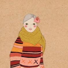 Miki Sato, Flow Magazine, Fine Arts Degree, Animals Beautiful, Her Style, Maya, Folk Art, Aurora Sleeping Beauty, Disney Characters