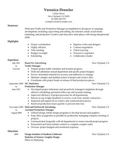 operations manager resume examples