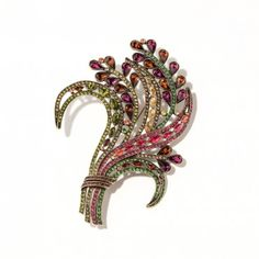 Curve Appeal Crystal accented pin | Heidi Daus Designs Official Site