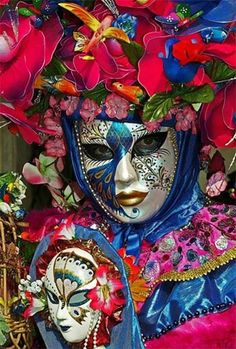 # Masks of Carnevale Venice, Italy. Go to www.YourTravelVideos.com or just click on photo for home videos and much more on sites like this.