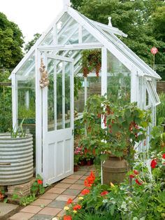 Backyard Greenhouse Helps with Plant Propagation  A small backyard greenhouse is a good spot to start early vegetables and flowers. Once the weather warms, the door and windows can be left open to increase airflow, and plants can continue to help with propagation.