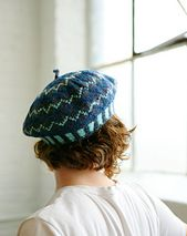 Zig Zag Fair Isle Tam, from the book Beyond Knit and Purl by Kate Atherley. cooperativepress.com