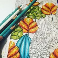 More trees... --> If you're looking for the most popular coloring books and supplies including gel pens, colored pencils, watercolors and drawing markers, check out our website at http://ColoringToolkit.com. Color... Relax... Chill.
