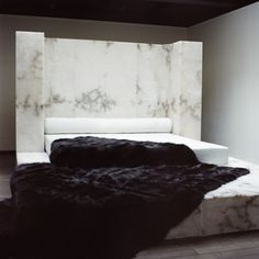 rick owens marble bed