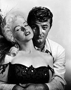 "Marilyn Monroe & Robert Mitchum in ""River Of No Return"" 1954"