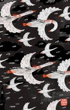 print  pattern: SURTEX 2014 - flyers part one