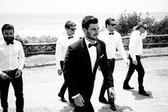 Refined Groomsman / Photographed by Rachel Kara & Tim Ashton