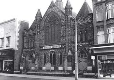 Baptist Church, London Road North. Where Boots now stands.