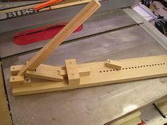 Building a pen assembly press -