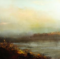 "Saatchi Art Artist Maurice Sapiro; Painting, ""The Marsh, Once More"" #art"