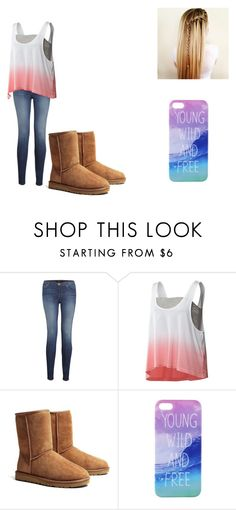 """""""Bleh <3"""" by stanbro2001 ❤ liked on Polyvore featuring J Brand, adidas and UGG Australia"""