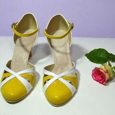 Farebné svadobné topánky - Barevné svatební boty, colour wedding shoes, žltá, žlutá, yellow Shoes, Fashion, Moda, Zapatos, Shoes Outlet, Fashion Styles, Shoe, Footwear, Fashion Illustrations