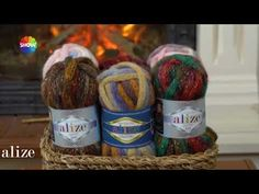 Alize Country ile Kurdele İşi - Ribbon Embroidery Technique with Using Alize Country - YouTube