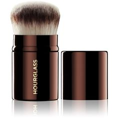 Hourglass Women's Retractable Kabuki Brush ($56) ❤ liked on Polyvore featuring beauty products, makeup, makeup tools, makeup brushes, beauty, filler, no color and hourglass cosmetics