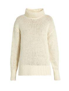 Roll-neck wool-blend knit sweater   Y's By Yohji Yamamoto   MATCHESFASHION.COM US