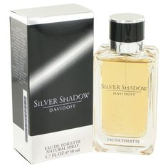 Silver Shadow By Davidoff Eau De Toilette Spray 1.7 Oz