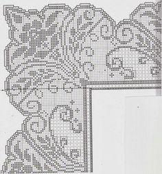 TRICO et crochet-madonna-moi: nappes crochet et le tissu avec des motifs