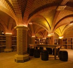 "Best craftsmanship award 2012, Tupgill Cellar: Tupgill Cellar was built to emulate the existing building with an array of atmospheric spaces surrounded by meticulous brick detailing, it was ""obvious"" to pick this building as the winner of the craftsmanship category."