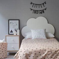 Cabecero de cama para dormitorio infantil